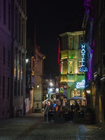 Rue des marocains