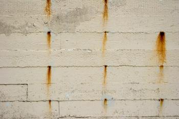 Rust on concrete texture