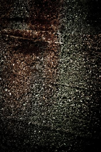 Rust stained concrete texture