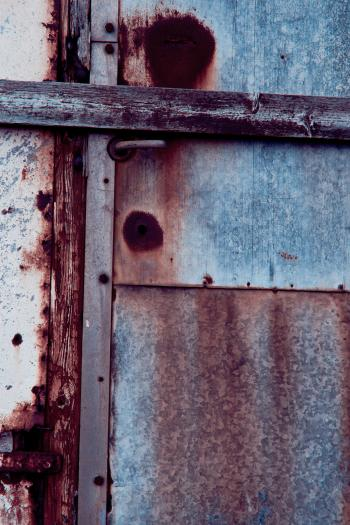 Rusted Door Texture