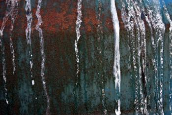 Rusted metal surface