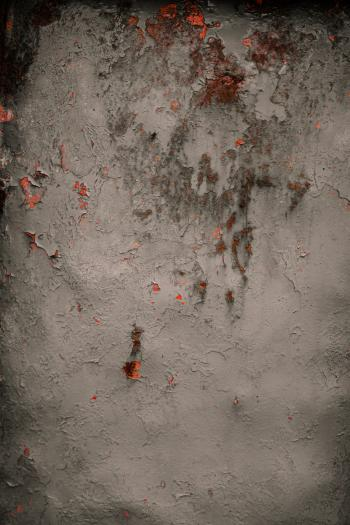 Rusted Red Metal Background