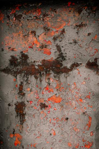 Rusted Red Metal Texture