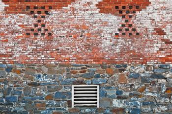 Rustic Alien Wall - HDR
