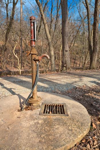 Rustic Water Pump - HDR