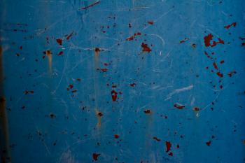 Rusty Blue Wall