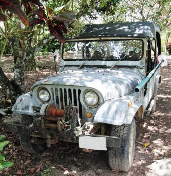 Rusty Old Jeep