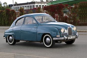 SAAB 93 B DE LUXE 1959 Falun Sweden