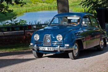 Saab 96 DE Luxe
