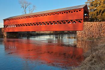 Sachs Covered Bridge - HDR