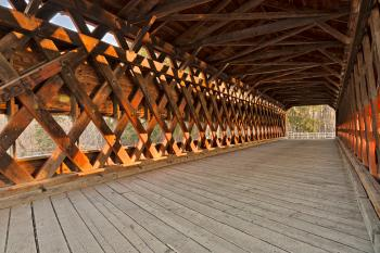 Sachs Covered Bridge - HDR