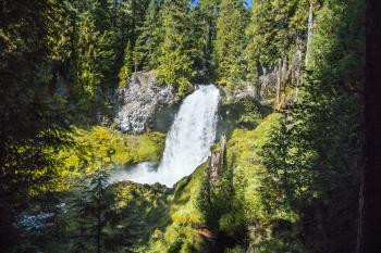 Sahalie Falls, Oregon, October