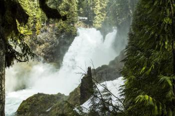Sahalie Waterfall, Oregon
