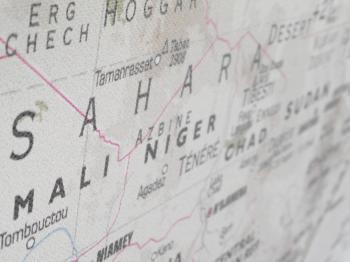 Sahara Map
