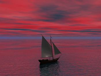 Sailing in the Middle of the Sea