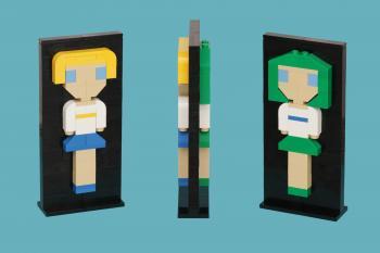 Sailor Uranus / Sailor Neptune