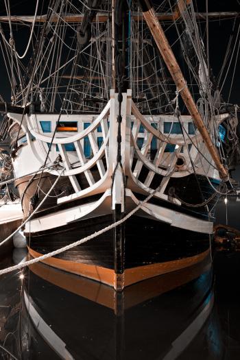 Saint-Malo Historic Boat