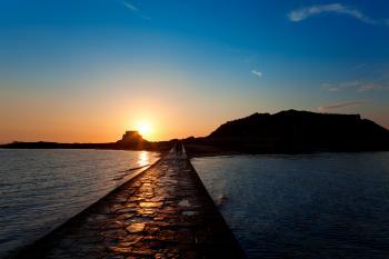 Saint-Malo Sunset Scenery
