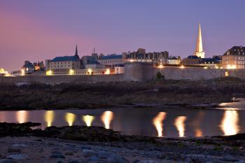 Saint-Malo Twilight Scene