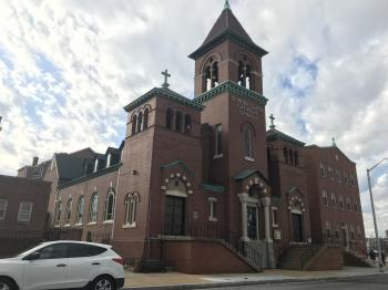 Saint Peter Claver Catholic Church (1888), 1526 N. Fremont Avenue, Baltimore, MD 21217