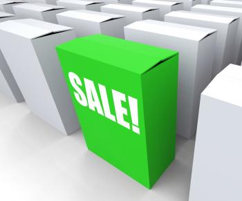 Sale! Box Shows Selling Retail and Buying