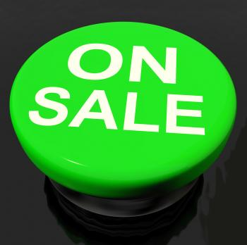 Sale Now Button Shows Promotional Savings Or Discounts
