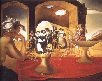 Salvador Dali painting