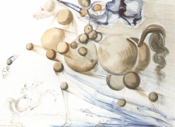 Salvador Dali painting