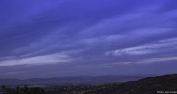 San Fernando Valley from Mulholland Dr