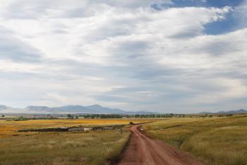 SAN RAFAEL VALLEY GRASSLANDS, SE of Patagonia, scc, az (9-27-10) - morning light -15