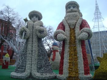 Santa Claus and Snowflake