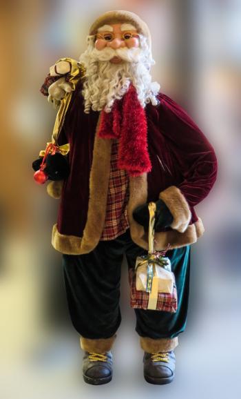 Santa on Chrismas