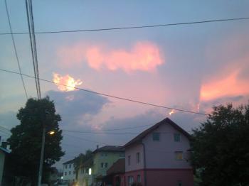 Sarajevo skies