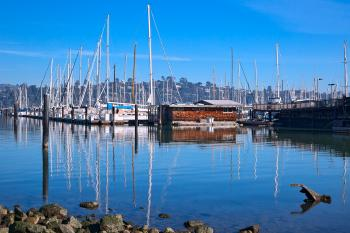 Sausalito Waterfront - HDR