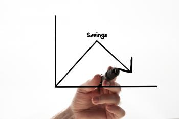 Savings graph