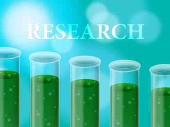 Science Laboratory Represents Study Examine And Chemistry