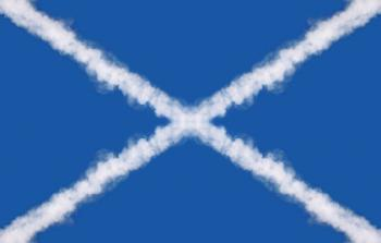 Scotland Cloud Trail Flag