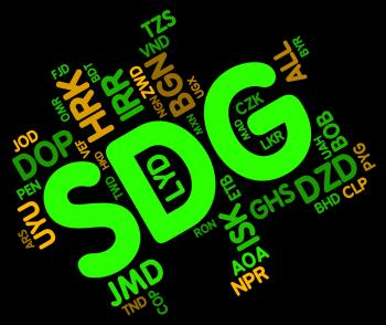 Sdg Currency Shows Exchange Rate And Forex
