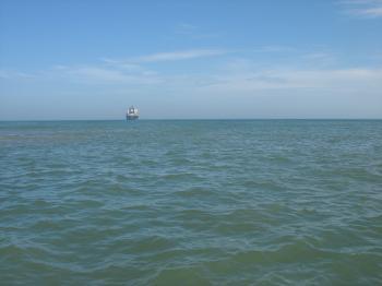 Sea in Qingdao