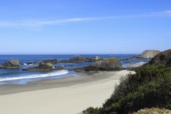 Seal Rock Beach Oregon