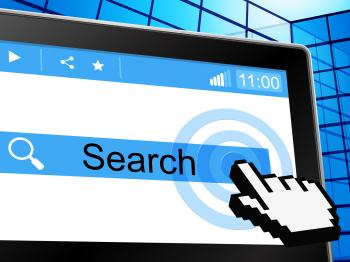 Search Online Shows World Wide Web And Analyse