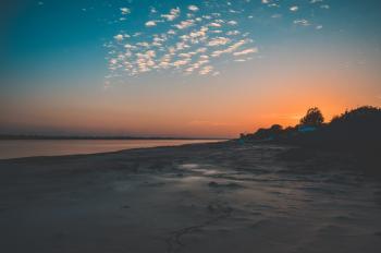 Seaside Taken during Sunset