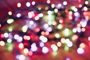 Selective Focus Photography of String Lights