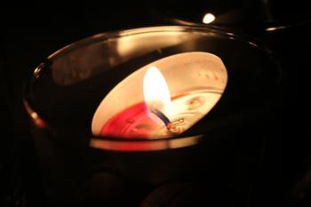 Selective Focus Photography Scented Candle