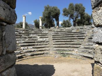 Senator house in ancient Nysa