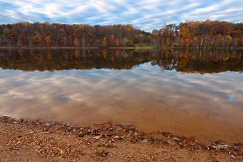Seneca Fall Reflections - HDR