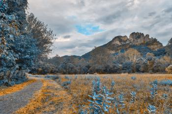 Seneca Rocks Sapphire Trail - HDR