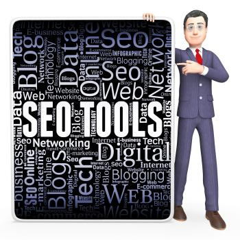 Seo Tools Indicates Search Engine And Applications