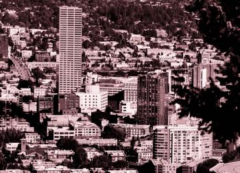 Sepia Photography of Cityscape