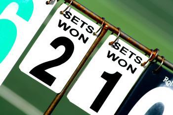 Sets Won 2 Sets Won 1